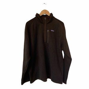 Patagonia Men's 1/4 zip better sweater XL NWT